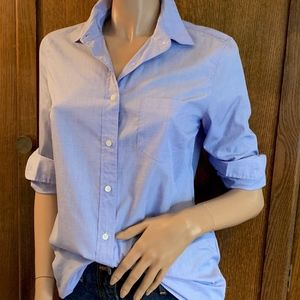 "Blue ""Boy"" fit button down pocket shirt J.Crew"
